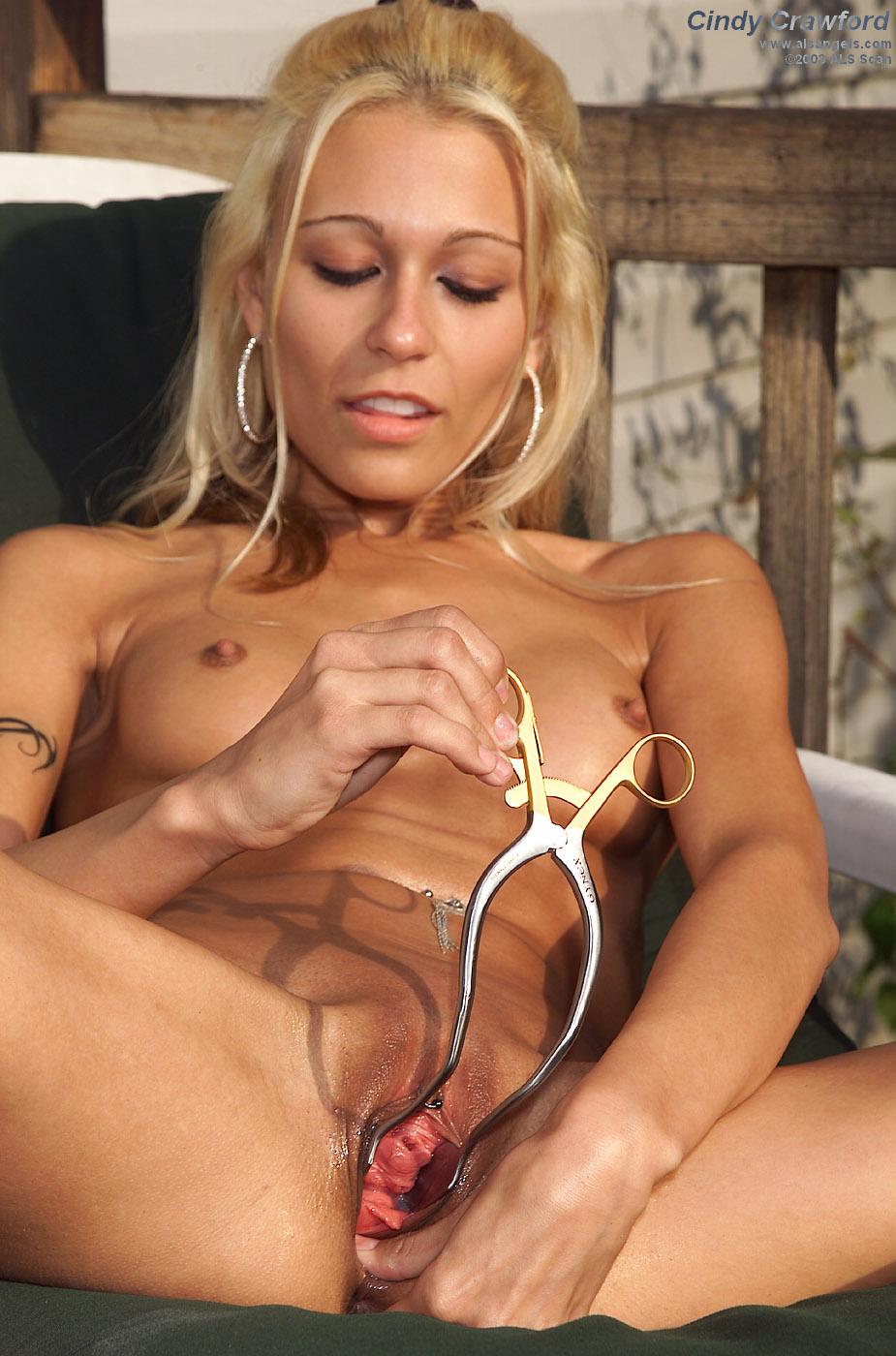image Cindy crawford alluring blonde get rammed har