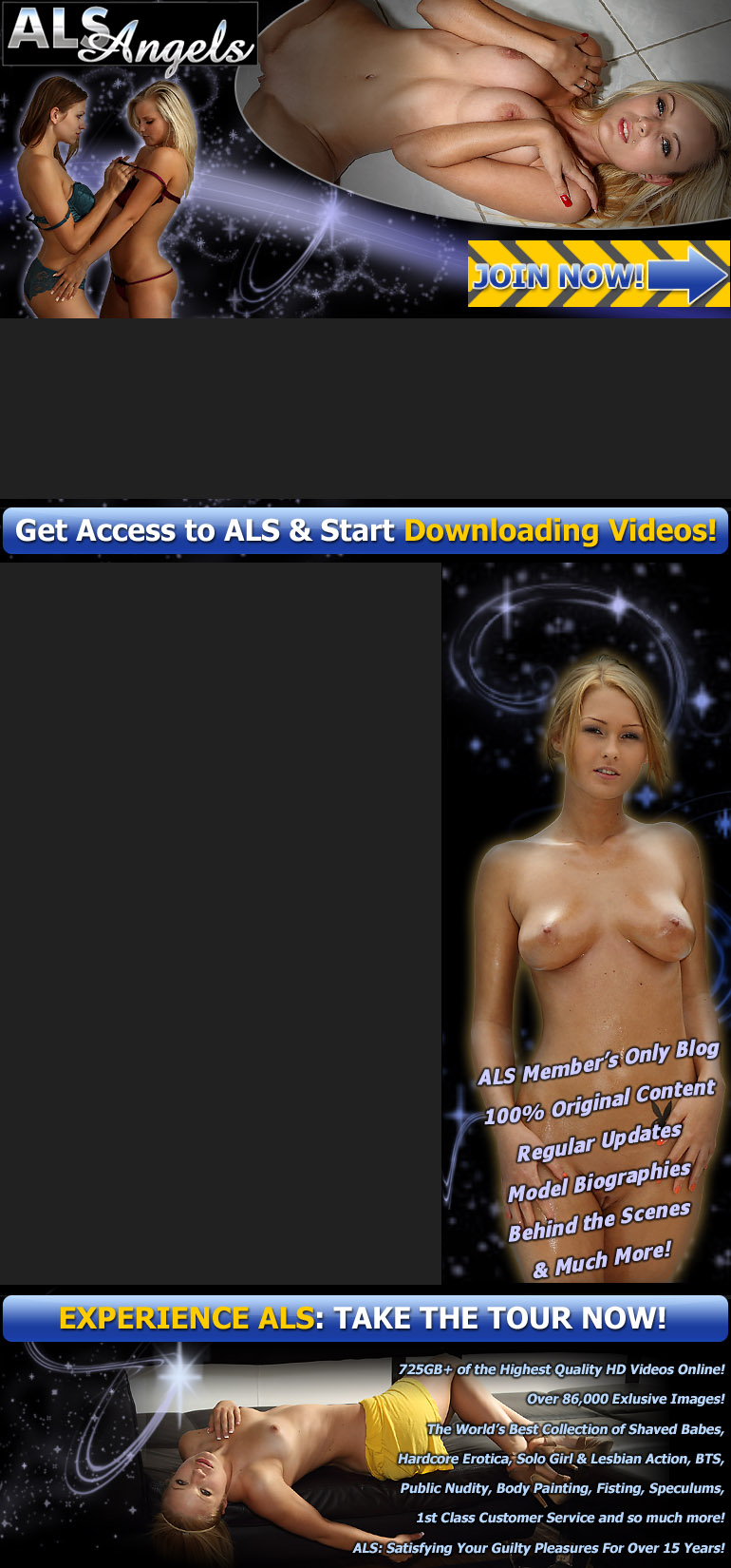 ALSAngels.com Thumbnail Gallery Page